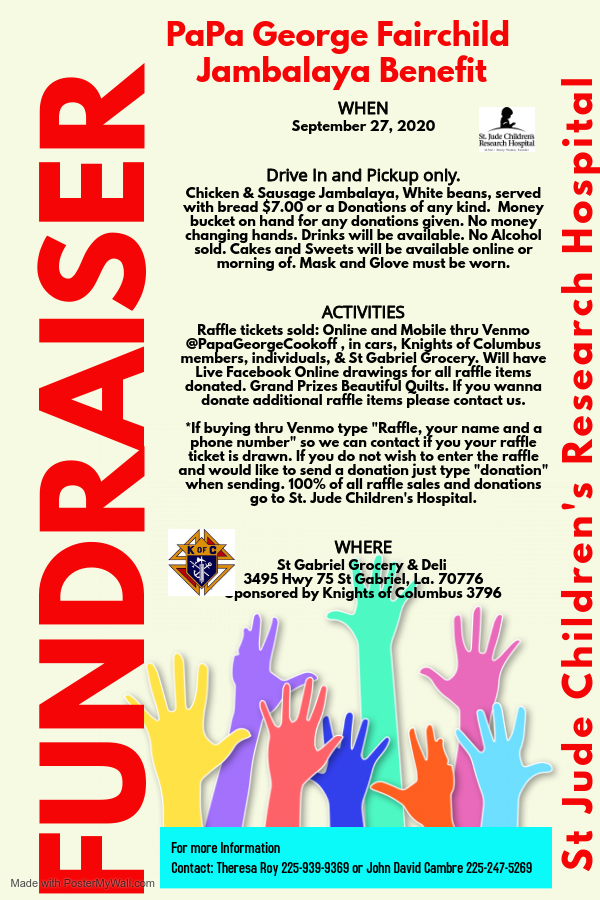 Copy of Fundraiser Poster Template - Made with PosterMyWall (2)